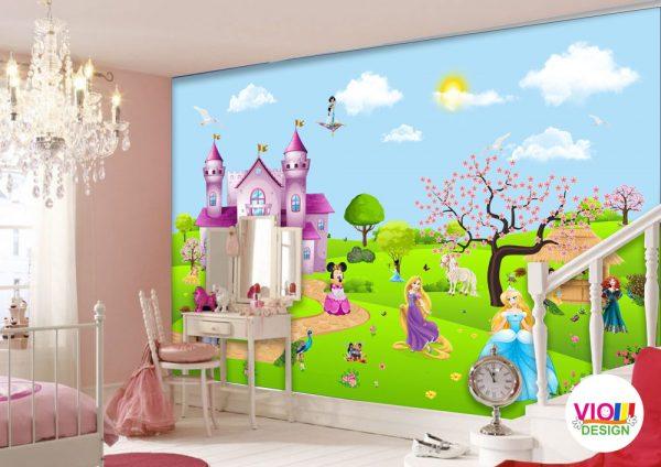 Fototapet Copii Disney Princes