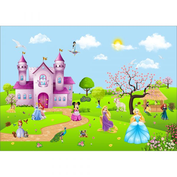 Fototapet-Copii-03-Disney-Princes