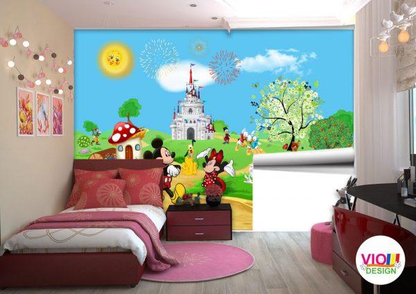 Fototapet Copii Disney Mickey and Friends