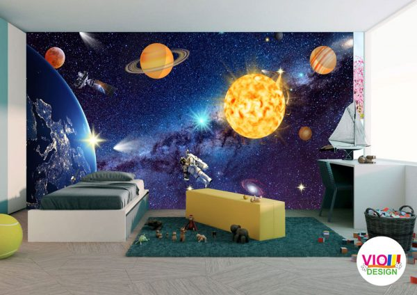 Fototapet Copii Univers Cosmic
