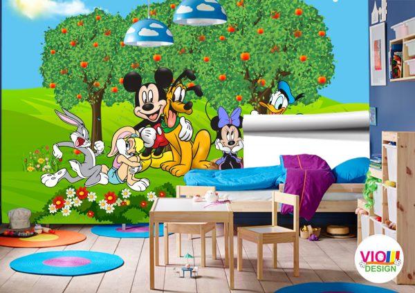 Fototapet-Copii-08-Disney-Mickey-and-Friends
