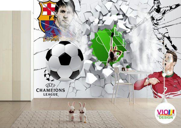 Fototapet-Copii-20-Fotbal-Wall-250x400-cm