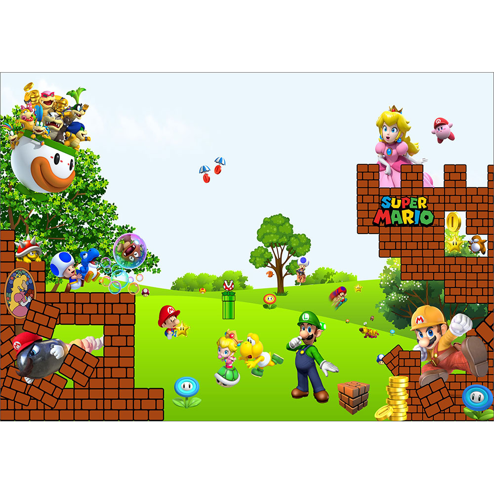 Fototapet-Copii-21-Super-Mario