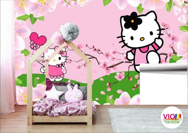 Fototapet-Copii-23-Hello-kitty-250x400-cm
