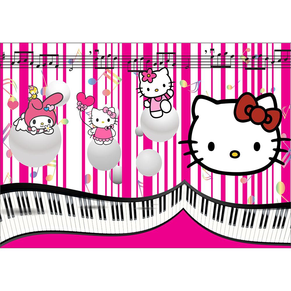 Tapet Fototapet Copii Hello Kitty Muzica