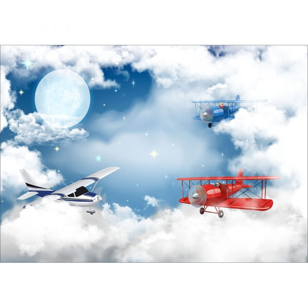 Fototapet-Copii-26-Avioane-pe-cer
