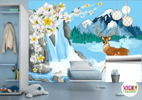 Fototapet-Copii-36-Abstract-Bambi
