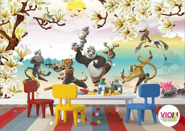 Fototapet-Copii-38-Kung-Fu-Panda
