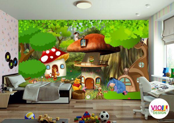Fototapet-Copii-44-winnie-the-pooh