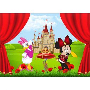 Fototapet-Copii-52-Minnie-si-Daisy