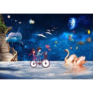 Fototapet-Copii-58-Univers-Dream