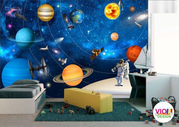Fototapet-Copii-61-Sistemul-Solar