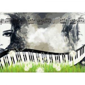 Fototapet-Abstract-Vintage-Pasiunea-Muzicii