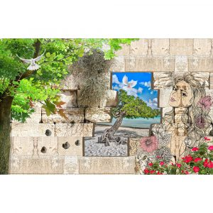 Fototapet-3D-Behaind-the-Wall