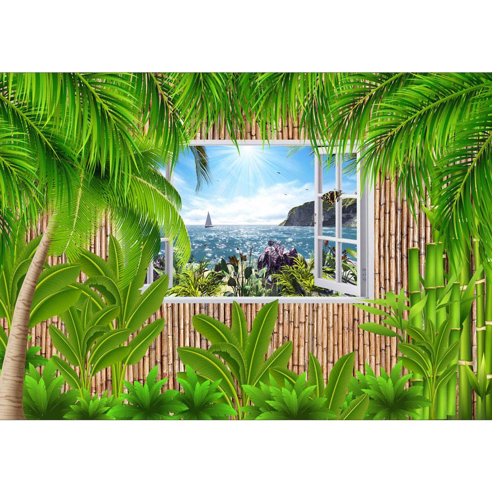 Fototapet-3D-Relaxare-Tropicala