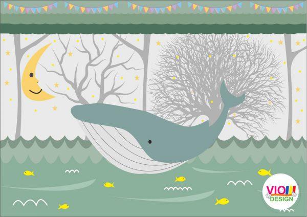 Fototapet-Copii-112-Balena-Gigant