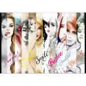 Fototapet Abstract Girls Power